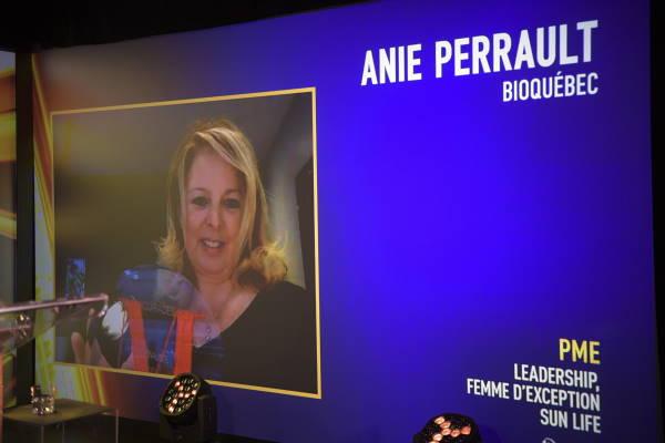 Anie Perrault, Directrice générale - BIOQuébec