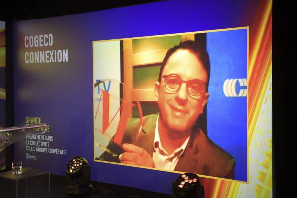 Reno Longpré, Directeur de la programmation NousTV Drummondville et Magog - NousTV, la télévision communautaire locale de Cogeco