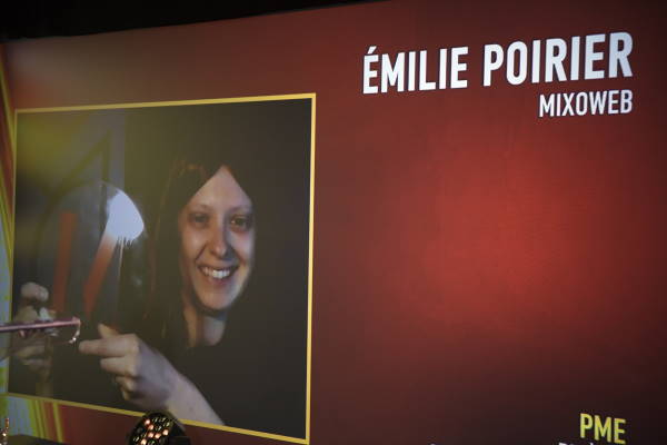 Emilie Poirier, Présidente - MixoWeb