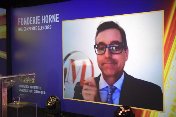 Claude Bélanger, Chef des opérations métallurgiques cuivre du Québec - Fonderie Horne