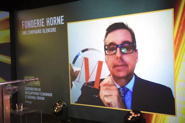 Claude Bélanger, Chef des opérations métallurgiques cuivre du Québec - Fonderie Horne, une compagnie Glencore