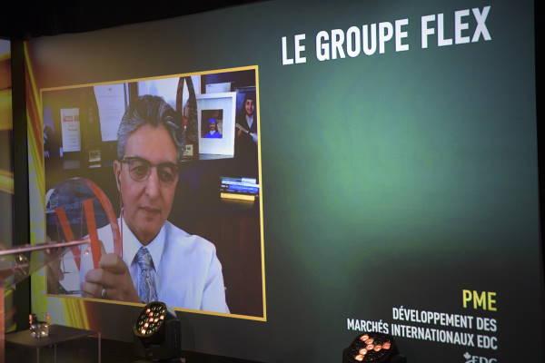 Mostafa Chafi, Président - Le Groupe Flex