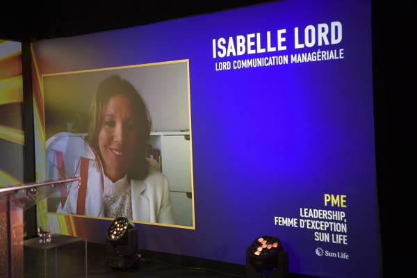 Isabelle Lord, Présidente - Lord Communication managériale