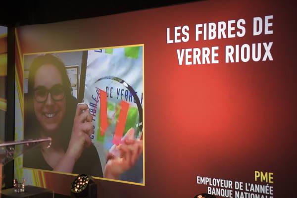 Pascale Gagnon, Présidente Directrice Générale - Les Fibres de Verre Rioux inc.