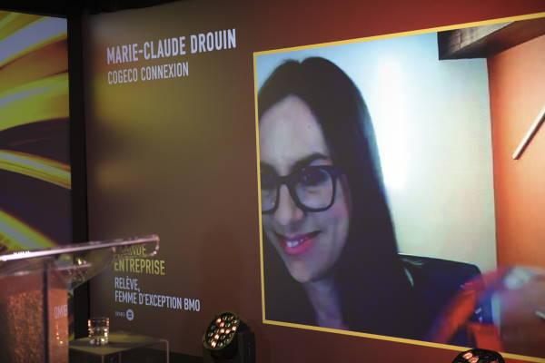 Marie-Claude Drouin, Directrice développement d'entreprise - COGECO