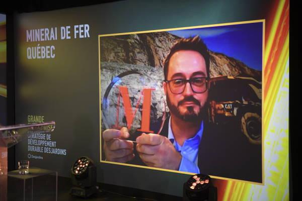 François Lafrenière, Vice-président au Développement durable - Minerai de Fer Québec