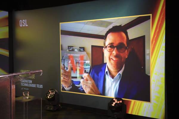 Dominic Picard, VP exécutif, Technologies de l'information et chef de la direction financière - QSL