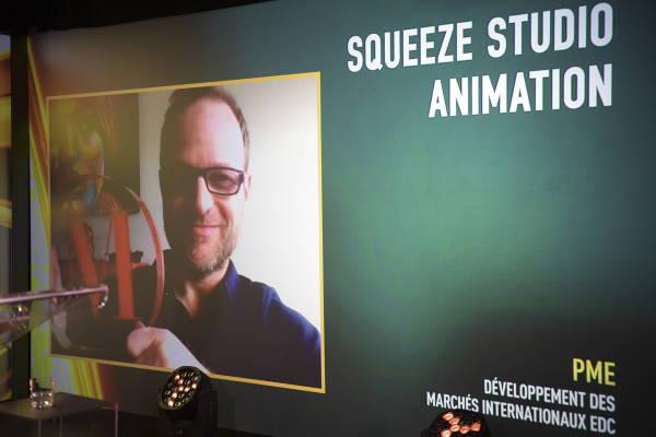 Denis Doré, Président - directeur général et cofondateur - Squeeze Studio