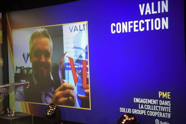 Simon Valin, Propriétaire - VALIN Confection