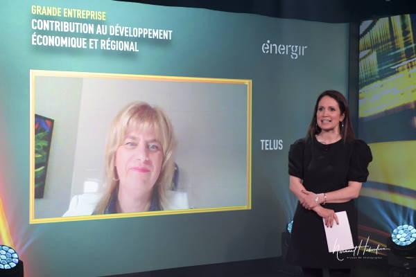 Marie-Christine D'Amours, Vice-présidente, Solutions consommateurs et Expérience client - TELUS