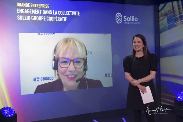 Johanne Hinse, Directrice générale Québec & vice-présidente Programmation et Relations avec les communautés - Cogeco Connexion
